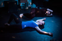 Photograph from Attempts on Her Life - lighting design by CatjaHamilton