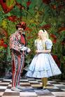 Photograph from Alice in Wonderland - lighting design by Johnathan Rainsforth