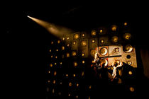 Photograph from Gobsmacked - lighting design by Charlie Morgan Jones