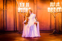 Photograph from Isabeau - lighting design by Robbie Butler