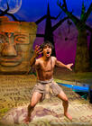 Photograph from The Jungle Book - lighting design by James McFetridge