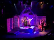 Photograph from Sister Act the Musical - lighting design by JamesM