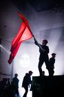 Photograph from Kommilitonen! - lighting design by Katy Morison
