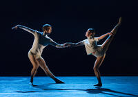 Photograph from Left From Write - lighting design by Ryan Stafford