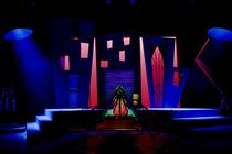 Photograph from Lion in the Streets - lighting design by Michael Clay