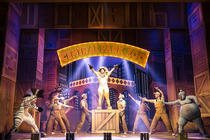 Photograph from Madagascar the Musical - lighting design by Matthew Clutterham
