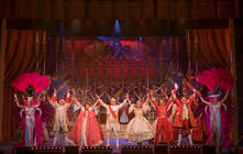 Photograph from Cinderella - lighting design by Andy Webb