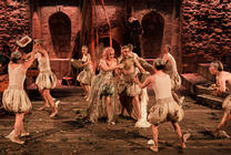 Photograph from The Fairy Queen - lighting design by George Lawton