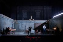 Photograph from The Coronation of Poppea - lighting design by Malcolm Rippeth