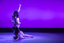 Photograph from Duality (RADA & RAMBERT Dance Project) - lighting design by JacobGowler