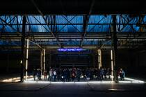 Photograph from South East Dance Space Launch - lighting design by Marty Langthorne