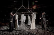Photograph from The House of Bernarda Alba - lighting design by Michael Clay