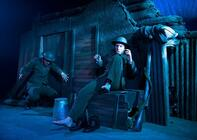 Photograph from The Man Who Followed His Legs and Kept on Walking - lighting design by Simon Hayes