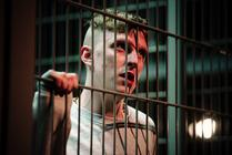Photograph from Thebes Land - lighting design by Richard Williamson
