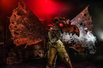 Photograph from The Trench - lighting design by timothykelly