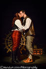 Photograph from UK Debut - The Pirate Queen - lighting design by Nigel Lewis
