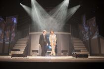 Photograph from Bright Lights, Big CIty - lighting design by Ellen Butterworth-Evans