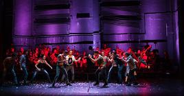 Photograph from West Side Story - lighting design by alinpopa
