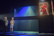 Photograph from Women Beware Women - lighting design by ejd