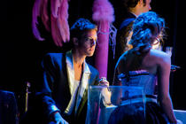 Photograph from Xerxes - lighting design by Andrew Bird