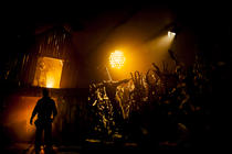 Photograph from Goosebumps Alive - lighting design by Charlie Morgan Jones